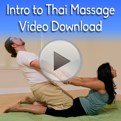 Intro to Thai Massage Workbook Video Download