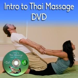 Intro to Thai Massage Workbook DVD